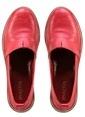 Marjin % 100 Deri Düz Ayakkabı Kırmızı